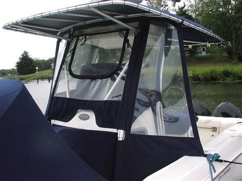 boat t top splash guard t top center console enclosure pro canvas
