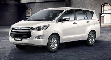 Toyota Innova G Mt toyota innova 2 8 g diesel mt white pearl 2018