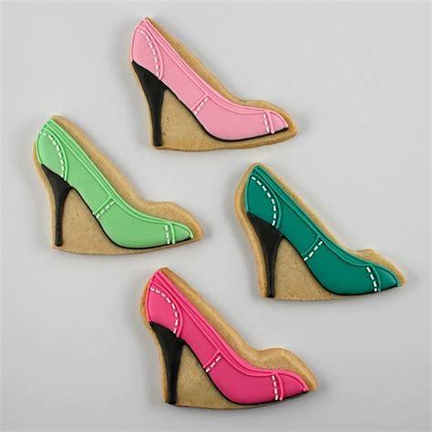 high heel shoe cookies high heel cookie