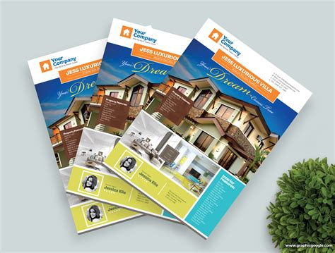 Property Flyer Template Free free real estate flyer template design