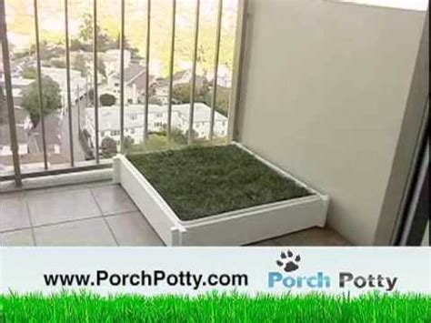 balcony dog bathroom porch potty the best grass potty box for dogs on the