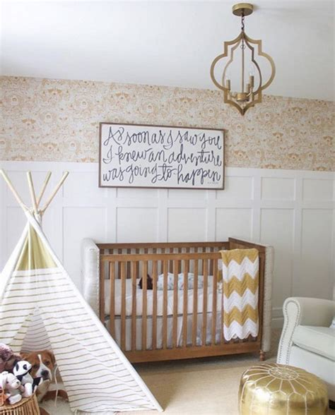 nursery design instagram gilded nursery adorable nursery ideas from instagram