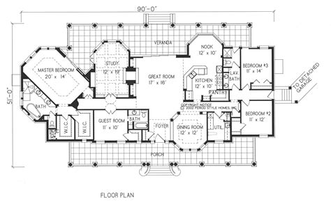 spanish mission floor plan home plans spanish mission style