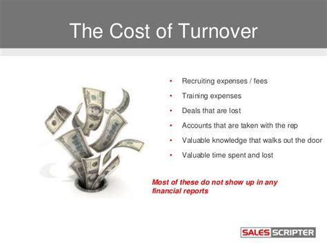 Mba Of Houston Cost by Decrease Sales Staff Turnover And All The Costs That Come