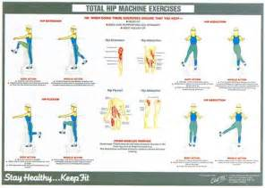 chart workout routines adults exercise chart hip