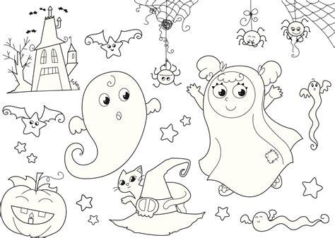 imagenes para colorear halloween im 225 genes de halloween para colorear