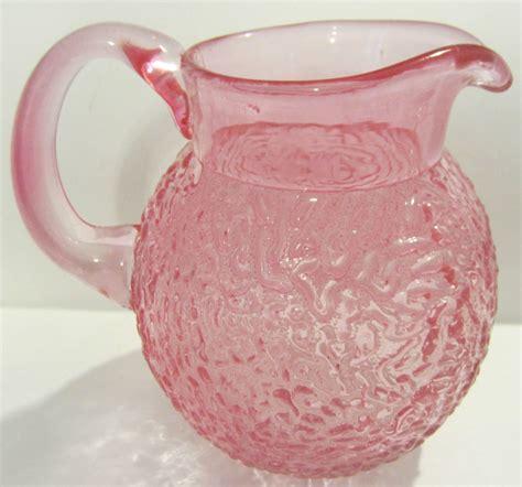 Gift Vases by Teleflora Gift Pretty Pink Glass Pitcher Vase China Ebay