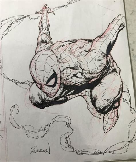 F Robson Sketches by Spider By Robson Rocha Spider Aka