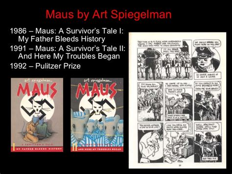 maus i a survivor s tale my bleeds history literature resources
