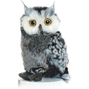 Owl Stuffed Animal amazon com 5 quot snowy owl stuffed animal with bird call
