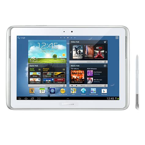 Tablet Samsung Note 1 samsung galaxy note 10 1 quot tablet with 3g wi fi white