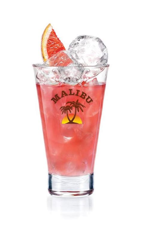 malibu cocktail malibu twisted pink cocktail drinks