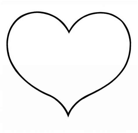 heart pattern color free heart colouring pages clipart best