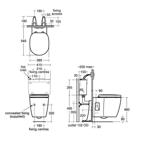Wc Height From Floor by Concept Freedom Wall Hung Raised Height Wc Suite Wall