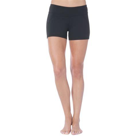 shorts for women 60 plus soybu killer caboose synergy yoga shorts for women