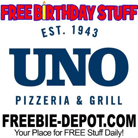 Pizzeria Uno Gift Card - birthday freebie uno pizzeria grill freebie depot