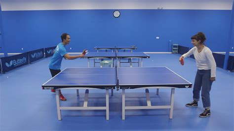 we played pong with table tennis olympian timothy