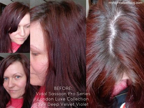 vidal sassoon hair color reviews review with before and after photos vidal sassoon pro