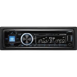 alpine cde 143bt bluetooth single din indash car stereo