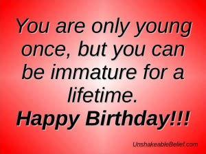 Small Birthday Quotes Sarcastic Birthday Quotes Happy Quotesgram