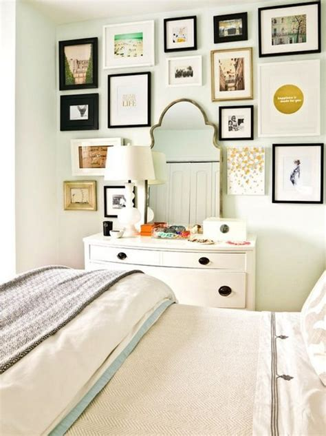 bedroom gallery wall 21eclectic bedrooms messagenote