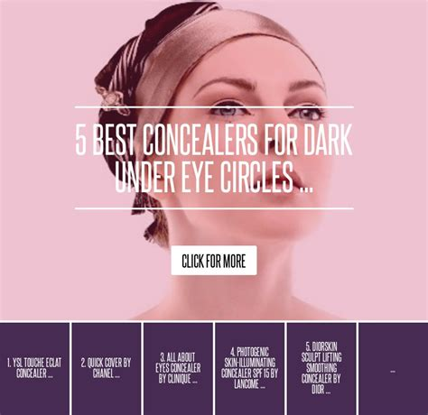 5 Best Concealers To Hide Our Skins Imperfections by All About Concealer By Clinique 5 Best