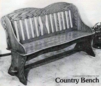 country bench plans 1689 softwood bench plans woodarchivist