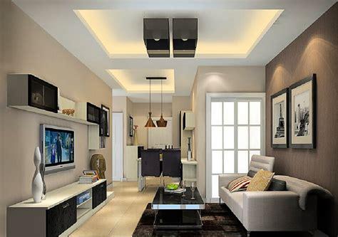 Lu Downlight Ruang Tamu desain gambar plafon gypsum desain rumah minimalis
