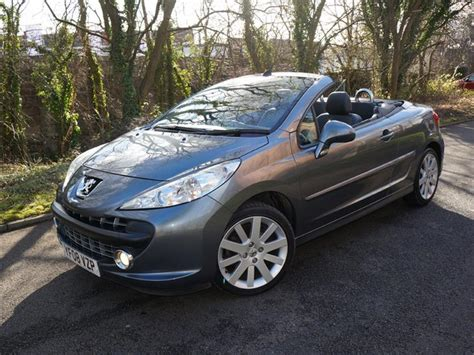 peugeot 207 convertible used 2008 peugeot 207 gt coupe cabriolet for sale in
