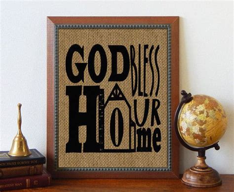god bless our home wall decor god bless our home burlap sign burlap print wall d 233 cor