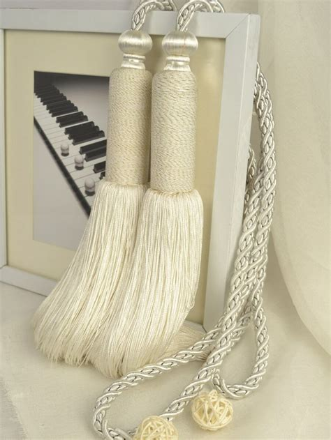curtain tieback tassels 1000 ideas about curtain ties on pinterest curtain tie