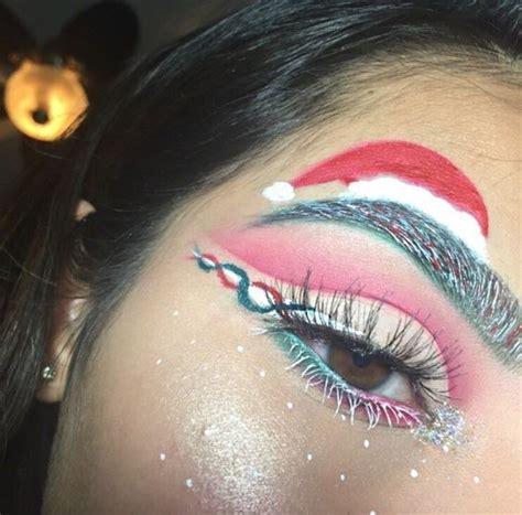 festive  creative christmas makeup ideas  girlshue