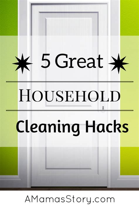 household hacks 5 great household cleaning hacks
