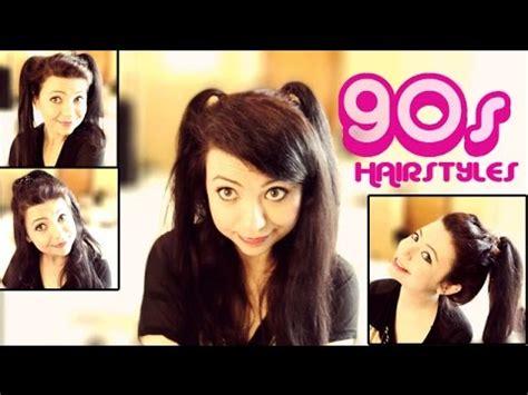 Nineties Hairstyles by 4 Easy 90 S Hairstyles Tutorial
