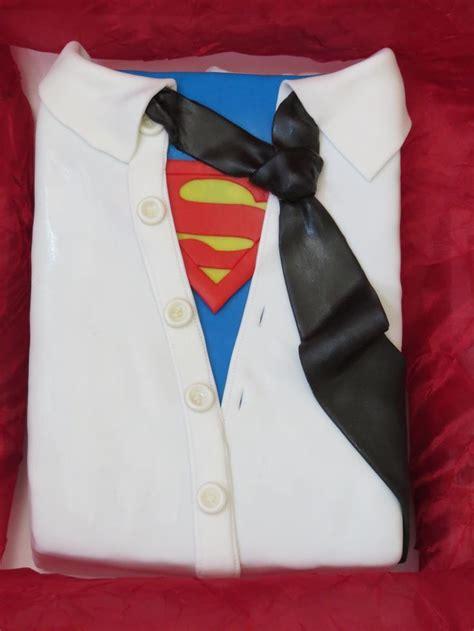superman shirt  tie birthday cake special occasion cakes pinterest birthday cakes