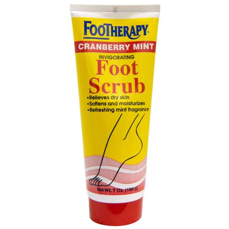 Foot Scrub by Helene Footherapy Invigorating Foot Scrub
