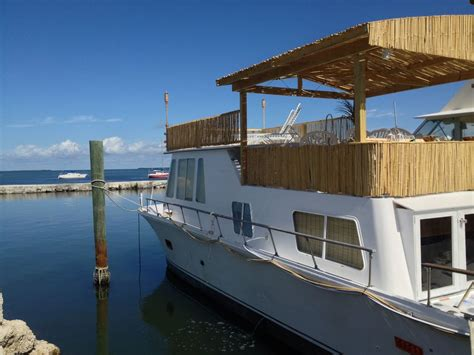 house boat rental florida keys big bamboo houseboat with an amazing view vrbo