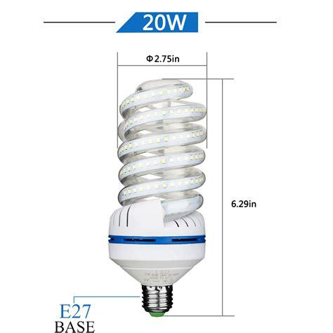 Led Light Bulbs 200 Watt Equivalent 4 Pack 1700 Lumens Non Dimmable 20w 200 Watt Equivalent E27 Daylight Led Bulb Ebay