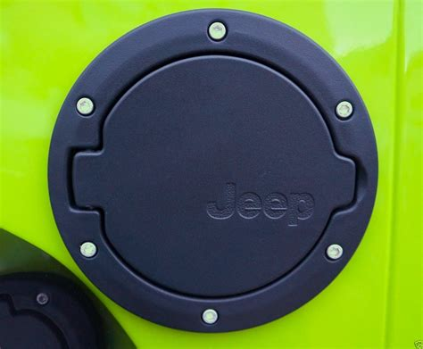 Jeep Gas Cap Jeep Wrangler Fuel Filler Cap Black Powdercoated For 07 14