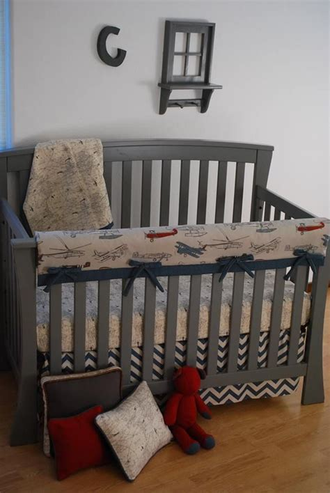 airplane nursery bedding 240 best images about grey crib bedding on pinterest