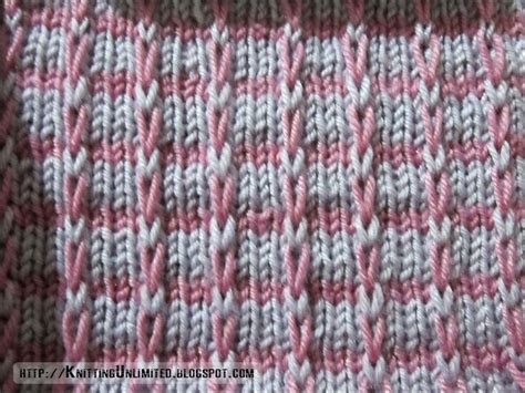 slip stitch seam knitting knitting unlimited slip stitch patterns mosaic