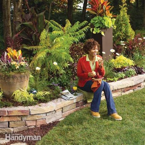 how to build a rock garden bed how to build a rock garden bed