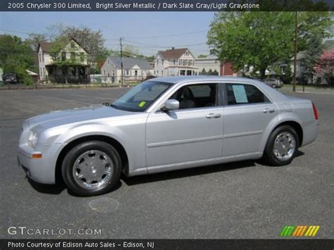 2005 Chrysler 300 Limited by Bright Silver Metallic 2005 Chrysler 300 Limited