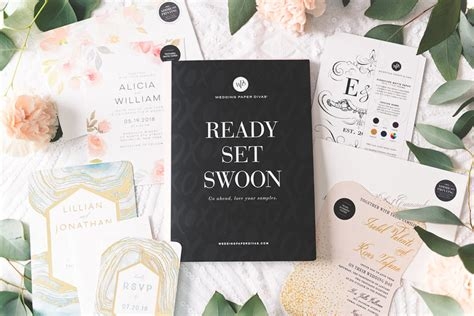 Swoon Worthy Paper Combos by Pretty Pear Inspiration For Plus Size Brides