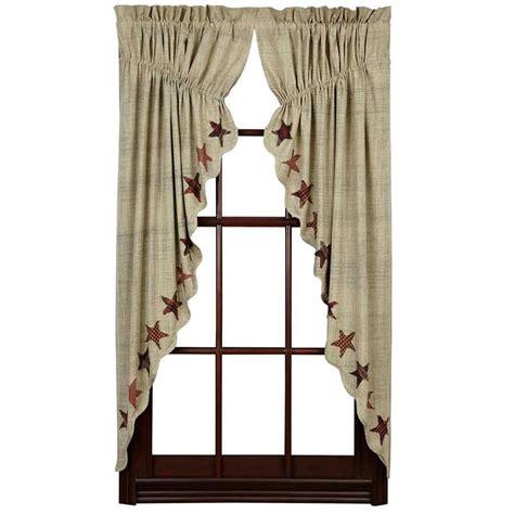 36 x 36 curtains abilene star prairie curtains 63 quot x 36 quot x 18 quot