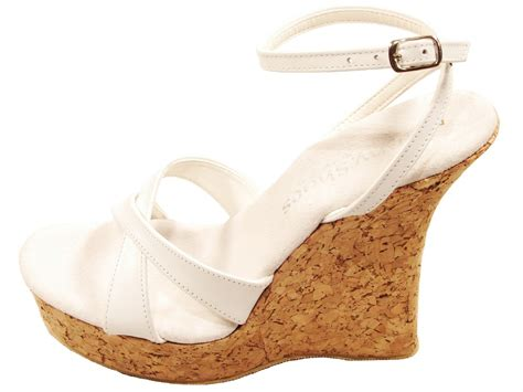 high cork wedge sandals tony shoes w543 5 cork wedge high heel platform ankle