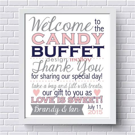 Best 25 Candy Bar Signs Ideas On Pinterest Candy Table Signs Candy Buffet Signs And Candy Buffet Signs Templates