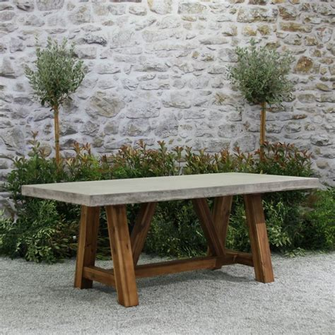 patio tables 25 best ideas about concrete table on