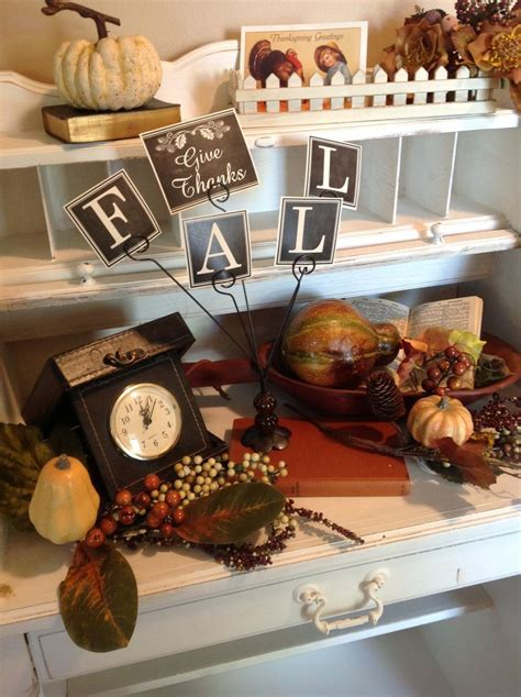 vintage fall decorations fall decor vintage its fall
