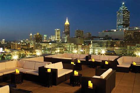 Atlanta Top Bars atlanta rooftop top floor restaurant or bar